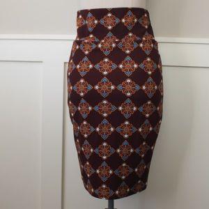Lularoe medallion Cassie skirt